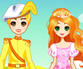 Jogar Fairytale Prince and Princess Dress Up
