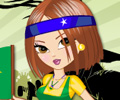 Jogar Brazil Fan Dress Up